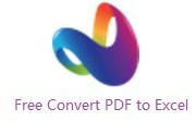 Free Convert PDF to Excel段首LOGO