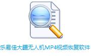 乐易佳大疆无人机MP4视频恢复软件段首LOGO