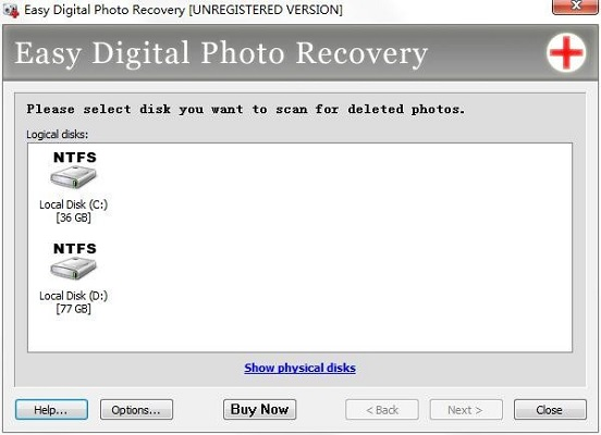 Easy Digital Photo Recovery截图0