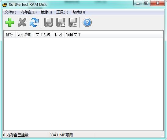 SoftPerfect RAM Disk截图0