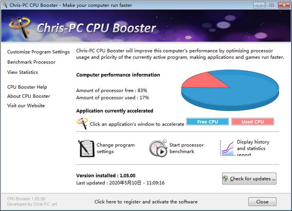 Chris-PC CPU Booster截图0