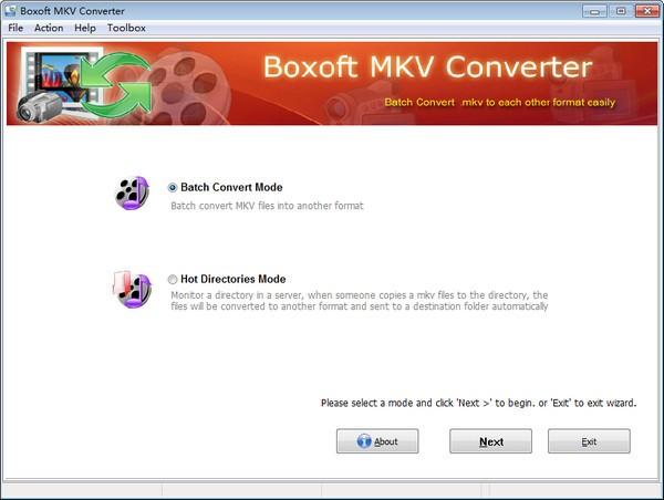 Boxoft MKV Converter截图0