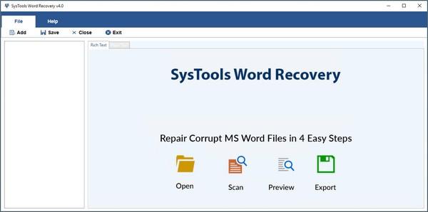 SysTools Docx Repair截图0