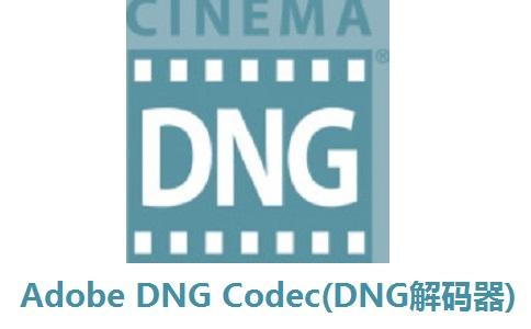 Adobe DNG Codec(DNG解码器)段首LOGO