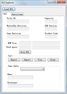 XCI Explorer截图0
