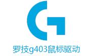 罗技g403鼠标驱动段首LOGO